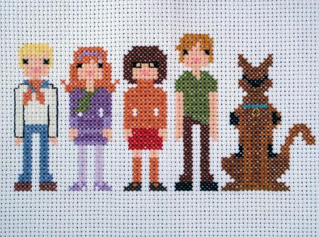 Scooby Doo Cross Stitch