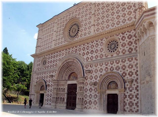 Facciata Basilica di Collemaggio - L'Aquila