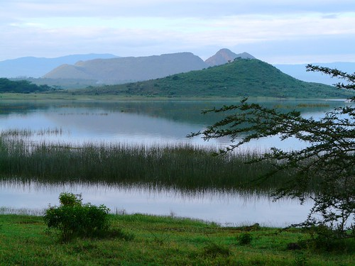 Lake Elementaita South of the lake, Kenya © IUCN Geoffroy Mauvais