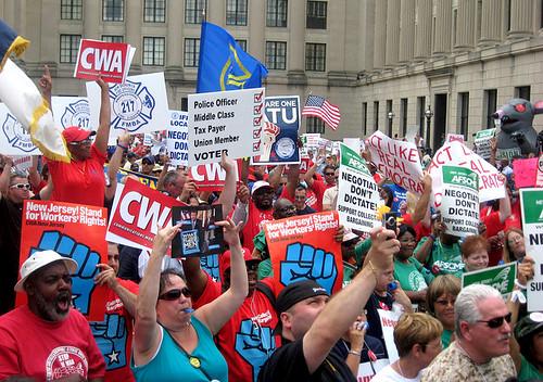 NJ Workers Rally June 16