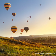 Good Morning Sunshine (fesign) Tags: sunrise turkey landscape hotairballoon cappadocia dreamscape anatolia kapadokya nevehir idream colorphotoaward