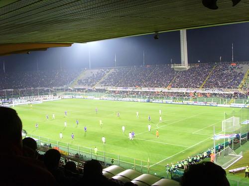 Lo Stadio Artemio Franchi a Campo di Marte- Firenze