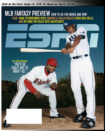 [HAPPY HOUR] BJ Upton's New Role: Coverboy