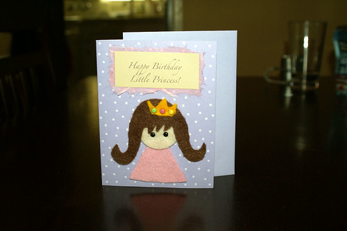 Happy Birthday Cards Homemade. Happy Birthday Little Princess