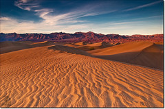 Late Day Light on the Dunes (Phijomo) Tags: california mountains nature landscape outdoors sand nikon scenery desert deathvalley sandunes mojavedesert mesquitesanddunes deathvalleynationalpark d80 greatbasindesert mywinners nikond80 natureoutpost