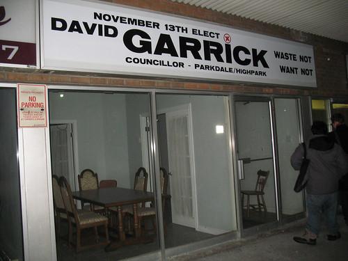 Elect David Garrick