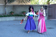 Esmerelda and Princess Aurora take a stroll through France (PeterPanFan) Tags: travel vacation usa france orlando epcot florida character disney disneyworld aurora characters fl wdw waltdisneyworld esmerelda themepark esmeralda themeparks worldshowcase disneycharacters princessaurora disneypictures disneyparks disneypics thehunchbackofnotredame disneyphotography disneyimages jonfiedler