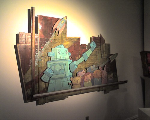 Pictures from Mad Art gallery opening in St. Louis