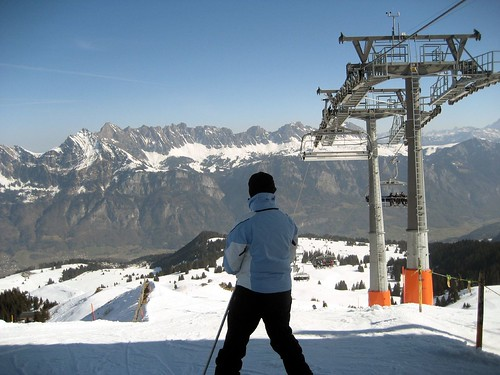Skifahren Februar 08