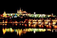 Charles Bridge n Castle, Prague (Souvik_Prometure) Tags: castle night slow prague praha shutter soe karluvmost flickrsbest abigfave platinumphoto aplusphoto colorsofthenight souvikbhattacharya