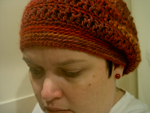 Slouchy beret - finished