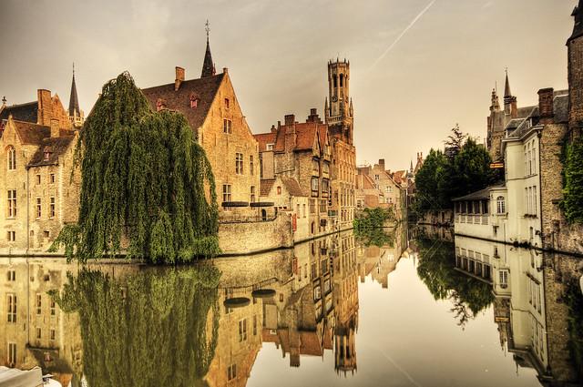 Canals of Bruges