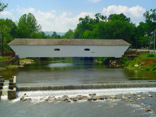Elizabethton Covered Bridge Crossing