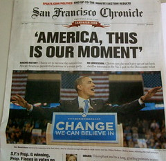Portada del San Francisco Chronicle