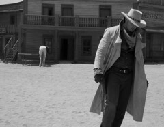 Back to The Saloon (howzey) Tags: spain cowboy andalucia espana texashollywood sergioleone tabernas spaghettiwestern