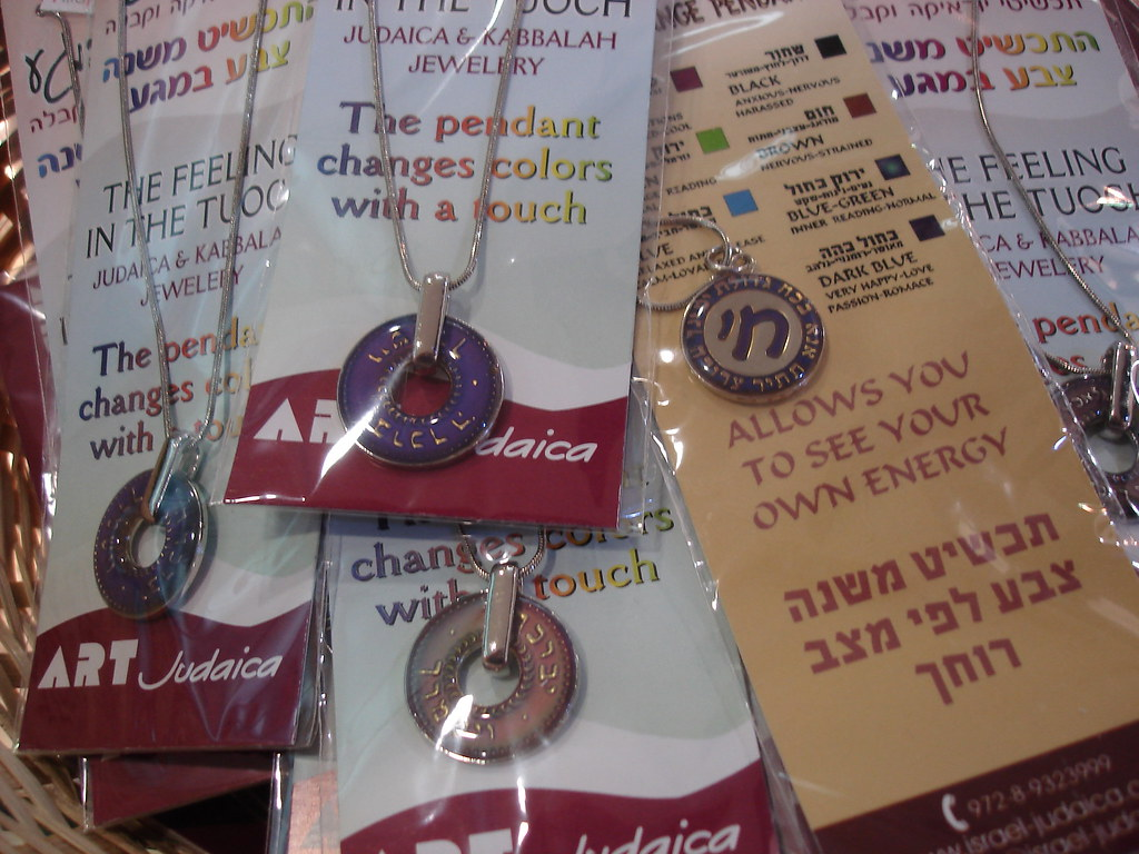 Kabbalistic mood pendants