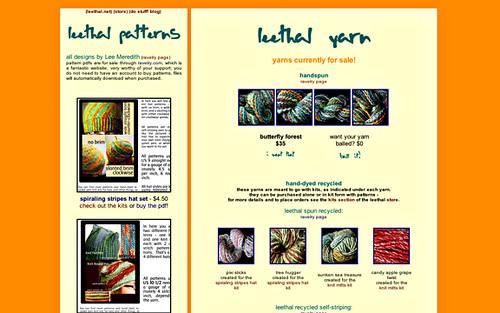 yarn webpage