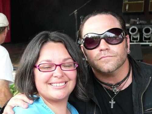 Amanda and Bono