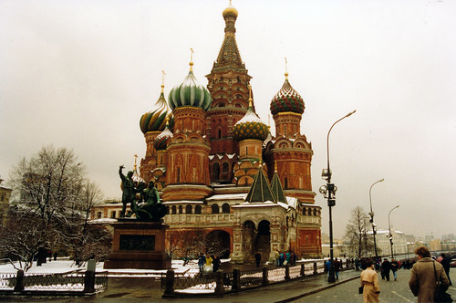 St Basile in Red Square Moscow