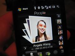 HTC Touch Diamond People