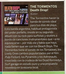 The Tormentos - Death Drop! - Reseña Revista La Nación 22 de junio de 2008