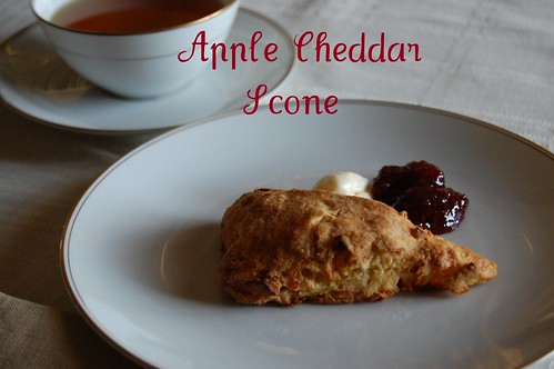 apple cheese scone