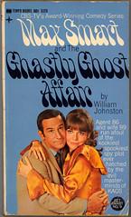 Max Smart and the Ghastly Ghost Affair (Lushie Peach) Tags: tv bookcover maxwellsmart barbarafeldon donadams getsmart