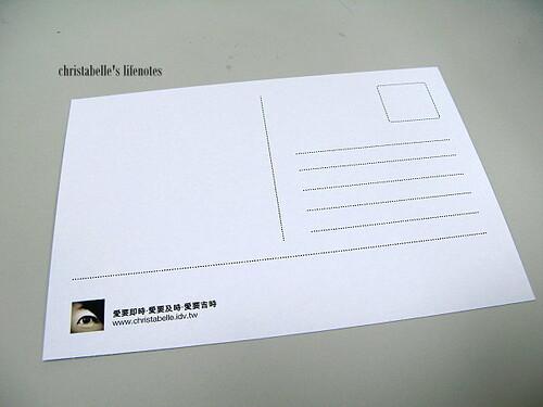 moo明信片背面