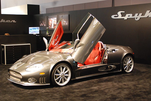 Spyker in autoshow