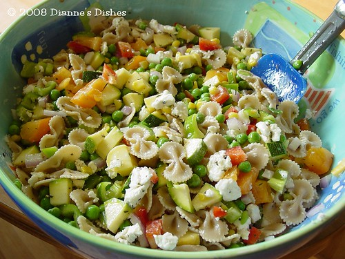 Whole Wheat Bow Tie Pasta Salad