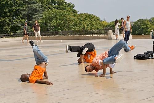 Trocadero dancers