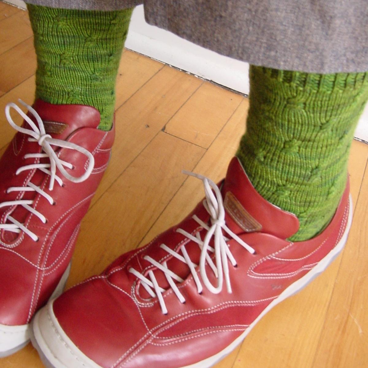 Farfalle Socks 1
