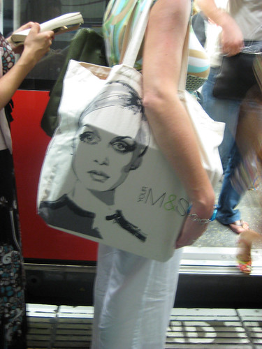 Twiggy on the Tube