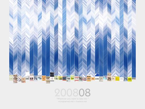 Wong Kar-Wai calendar - August 2008