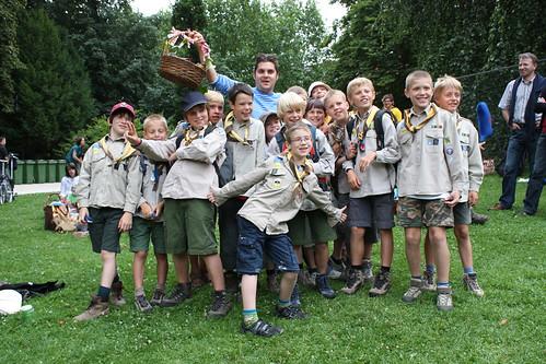 Scouts en Jeroen Meus