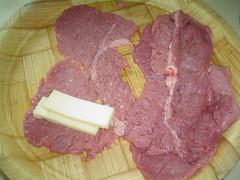Bisteces con queso