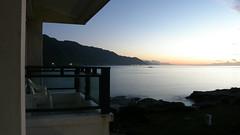 13.在陽台上就可以看日出