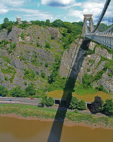 avon gorge & clifton suspension bridge