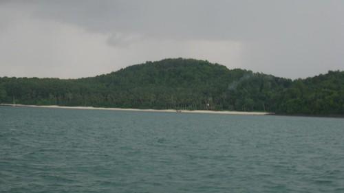 Our rainswept beach