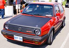 Vagkraft 2008 - 133 - Red VW MK2 GTI (compscigrad) Tags: auto show toronto ontario canada cars car vw golf volkswagen nice centre fast autoshow canadian event mk2 gti audi mississauga 2008 powerade brampton vagkraft