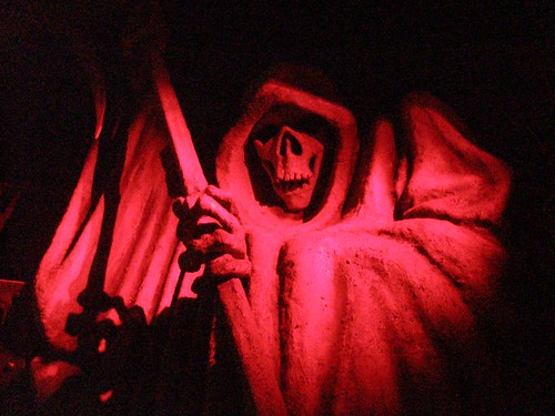 Grim Reaper in the London Dungeon
