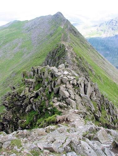 Helvellyn Striding Edge 1499