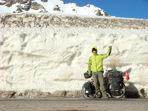 Nicolai going up the Andes...