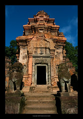 Preah Ko Temple. Angkor, Cambodia