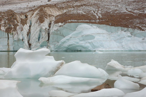 cavell glacier (by A tea but no e)