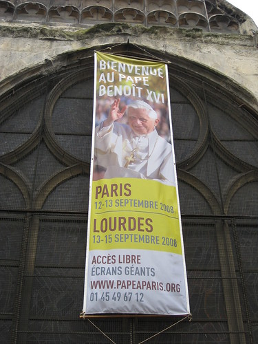 Le Pape à Paris 12-13 Septembre 2008