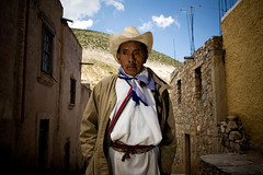 A man (yanseiler) Tags: travel america canon silver mexico real mine desert north oaxaca northamerica mexique catorce peyotl realdecattorce cattorce