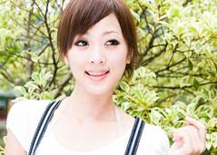 (swanky) Tags: portrait people woman cute girl beauty canon asian eos model asia pretty taiwan babe taipei   tamron 2008 taiwanese 30d   a16   mikako  1750mm difocus tamronspaf1750mmf28xrdiiildasphericalifmodela16  mikako1984