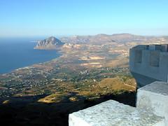 Erice - Monte Cofano (Georgedac) Tags: panorama cofano sicily monte sicilia erice sanvitolocapo spalti