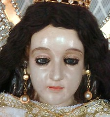 (20) the image that made me cry the moment i saw her and jumped up and down the altar in glee in the next few minutes. (virgen delos remedios of baliti) (olofgoodwill) Tags: virgen delos remedios baliti